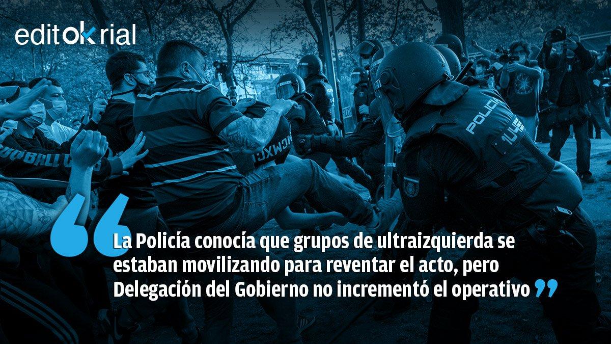 España 2021 - La Violencia es de la UltraIzquierda o No será... - NFW NEWS BY JOHNNYZURI