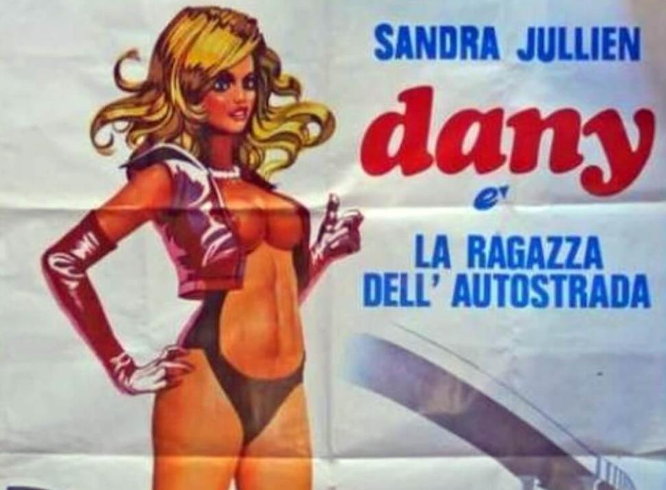 FILM DANY LA RAVAGEUSE – Una de la Megaestrella Sandra Julien